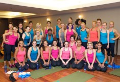 Sponsored: Glam & Under Armour hosted blogger bootcamp at Exhale Spa