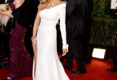Heidi Klum at the 70th Annual Golden Globe Awards