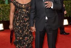 Denzel and Olivia Washington at the 70th Annual Golden Globe Awards