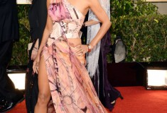 Halle Berry at the 70th Annual Golden Globe Awards