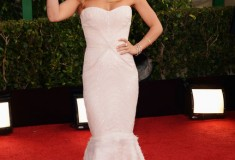 Hayden Panettiere at the 70th Annual Golden Globe Awards