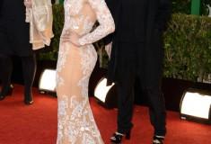 Jennifer Lopez at the 70th Annual Golden Globe Awards