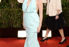 Jessica Chastain at the 70th Annual Golden Globe Awards