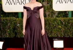 Lena Dunham at the 70th Annual Golden Globe Awards