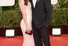 Megan Fox and Brian Austin Green at the 70th Annual Golden Globe Awards