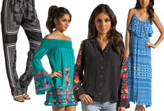 Boho-chic piecesfrom Revolve Clothing and more on Weekly Shopping and Goodies