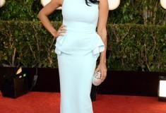 Rosario Dawson at the 70th Annual Golden Globe Awards