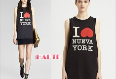 Haute buy: 3.1 Phillip Lim I Love Nueva York Cotton Jersey Tee