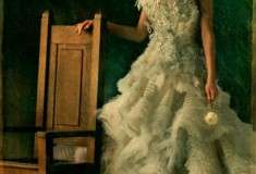 """Haute fashion news roundup: """"Catching Fire"""" promo pics feature 'Capitol Couture'; Kate Young for Target ad campaign + Stanley Colorite is the 'Barbie Man'"""