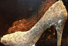 Haute fashion + celebrity news roundup: Kathryn Wilson designs the most expensive shoes; Shazam is launching a fashion app; Jeffrey Campbell's 'Lita' Bootie is the world's 'ugliest' shoe + Courtney Love fronts Saint Laurent's rock 'n' roll campaign