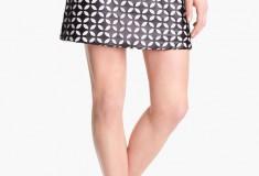 Haute buy: Vince Camuto Mod Cutout Faux Leather Skirt