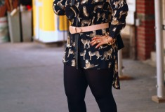 My style: Leopard on leopard (Boohoo animal print shirt dress + Jimmy Choo 'Private' Leopard Sandals)