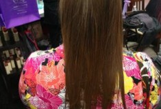 How I went from curly to straight with Magic Sleek Hair Straightening