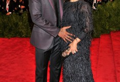 "Amar'e Stoudemire and Alexis Welch ""PUNK: Chaos To Couture"" Costume Institute Gala"