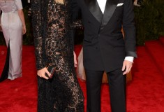 Joan Smalls and Tom Ford in Tom Ford