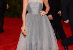"Julianne Hough in custom Topshop ""PUNK: Chaos To Couture"" Costume Institute Gala"