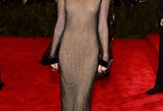 """Miley Cyrus in Marc Jacobs """"PUNK: Chaos To Couture"""" Costume Institute Gala"""