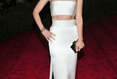 "Olivia Wilde The Metropolitan Museum of Art's Costume Institute benefit celebrating ""PUNK: Chaos to Couture"""