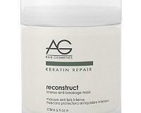 Repair your hair with AG Hair Keratin Repair Volumizing Spray and Anti-Breakage Mask