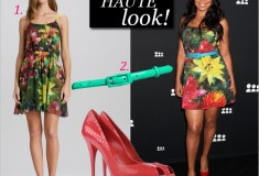 Get her haute look: Sanaa Lathan in Alice + Olivia & Casadei at the MySpace launch event