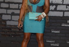 Foxy Brown attends the 2013 MTV Video Music Awards