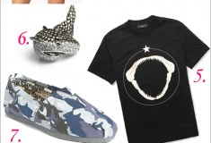 Get in the spirit of Shark Week with these 11 shark-printed and inspired pieces!