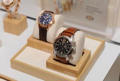 Fossil watches at Vogue styling event