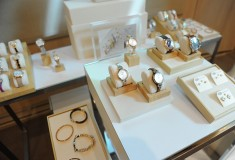 Fossil watches and jewelry at Vogue styling event