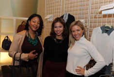 Me with fashion editor Samantha Lim & Cara Crowley from Vogue