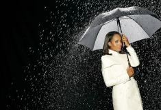 What She Wore: 'Olivia Pope' in a white Burberry Prorsum Double Duchess Caped Trench Coat + get the look!