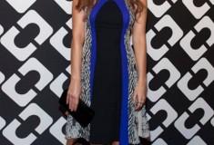Ahna O'Reilly in a DVF Pre-Fall '14 Dress