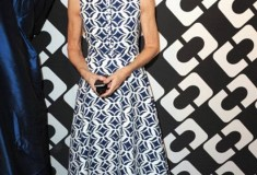 Anna Wintour in a DVF Dress