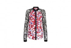 Peter Pilotto x Target Blouse red floral
