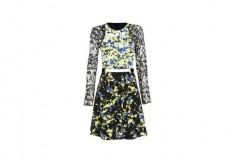 Peter Pilotto x Target Dress green floral print