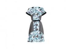 Peter Pilotto x Target Dress light blue floral print