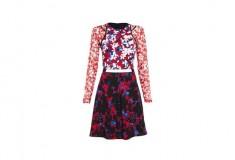 Peter Pilotto x Target Dress red floral print