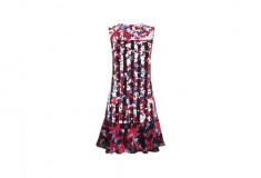 Peter Pilotto x Target Dress red floral stripe print