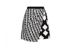 Peter Pilotto x Target Skirt black white check