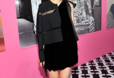 Rooney Mara in a DVF Dress