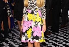 Talita von Furstenberg in the DVF Pop Wrap Limited Edition Amelia Wrap Dress