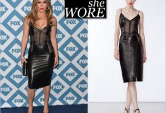 What She Wore: Jennifer Lopez in Ermanno Scervino & Jimmy Choo