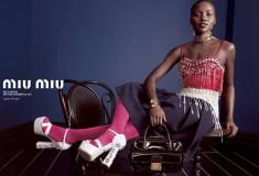 Lupita Nyong'o - Miu Miu campaign