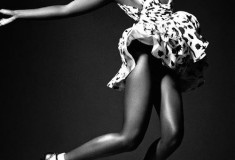 Lupita Nyong'o in Saint Laurent for Vogue Italia