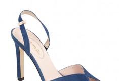 SJP by Sarah Jessica Parker Slim Peep Toe Pump in Avio Blue