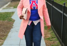 My Style: Varsity blues and pinks