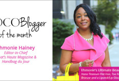 #ICYMI: I'm COCOTIQUE's COCOBlogger of the Month!