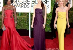 2015 Golden Globes Red Carpet: Red & Yellow, Purple & White and a Little Bit of Sparkle