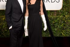 George Clooney and Amal Alamuddin Clooney in Dior