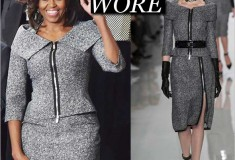 Michelle Obama in Michael Kors at the State of the Union Address