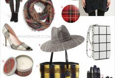 Trending: Mad for Plaid